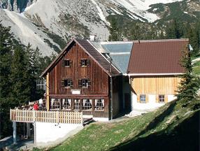 Otto Mayr Huette Allgaeuer Alpen