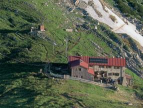Weilheimer Hütte Krottenkopfhuette